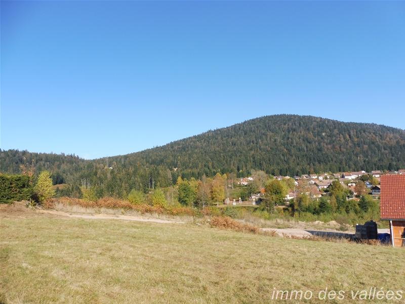 Achat / vente terrain viabilisé de 813m² sur Gérardmer orienté sud