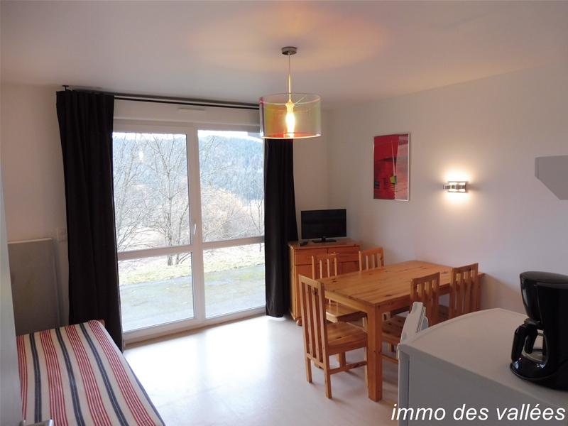 Achat Vente appartement Xonrupt Longemer 2 pièces terrasse, vue dégagée