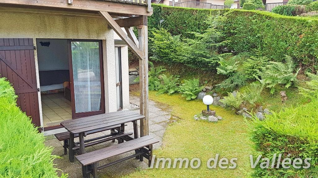 La Bresse proche centre appartement t2 terrasse