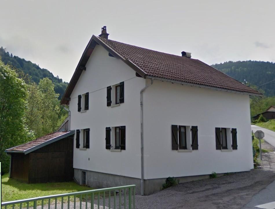 Ventron - maison sur la route des pistes